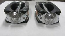 Schwinn krate 1970-73 pedals  with Schwinn end caps & reflectors