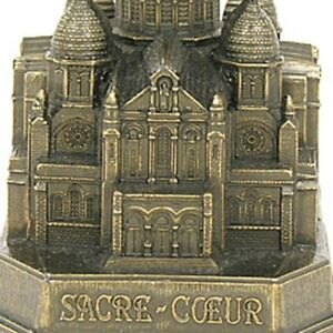 "Sacre Coeur Paris Model (4"") - France City Souvenir Replica Statue Travel Gift"