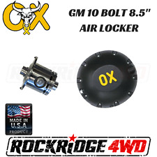 "OX AIR Locker GM 10 bolt 8.5"" 2.73 and up, 30 spline w/ HD Differential Cover"