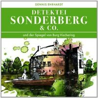 DETEKTEI SONDERBERG & CO - UND DER SPIEGEL VON BURG VISCHERING 2 CD NEU