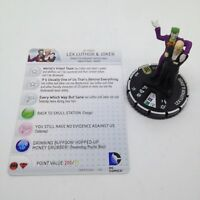 Heroclix World's Finest set Lex Luthor & Joker #059 Super Rare figure w/card!
