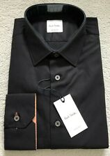 Paul Smith  Long Sleeve Formal TAILORED fit Shirt in black  RRP £185