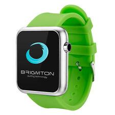 """Brigmton Bt3 smartwatch Bt4.0 1.44"""" verde"""