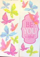 Quote: BE YOU TIFUL wall stickers butterflies room decor 13 decals inspirational