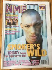 NME 28/10/95 Tricky cover,Rocket From The Crypt, Menswear, Saint Etienne