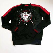 VIE+RICHE PARIS SIZE MEDIUM L/S sweater BLACK/MULTICOLORED 100%AUTHENTIC