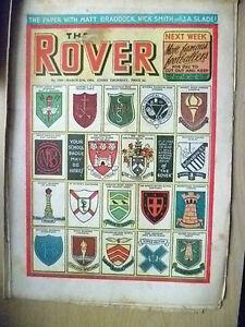 Comic- THE ROVER, NO. 1500, 27th March 1954