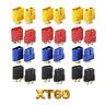 XT60 Goldstecker Lipo Akku Stecker Buchse Gelb Rot Schwarz Blau 1 2 3 4 5 10 20