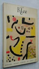 WILL GROHMANN PAUL KLEE 1ST/1 SB 1957 POCKET LIBRARY OF GREAT ART A22 CHILD PLA