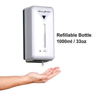1000ML Automatic Soap Dispenser Hands-Free IR Sensor Touchless Wall