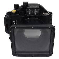 Mcoplus 40m/130ft Waterproof Underwater Housing Case for Panasonic Lumix LX100