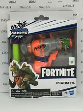 "Nerf Fortnite ""Micro RL"" Microshots Dart-Firing Toy Blaster with 2 Elite Darts"