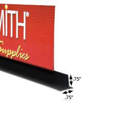"Case of 10 New Black Upright T-Sign Holder 3/4"" x 3/4"" x 4"" Length"