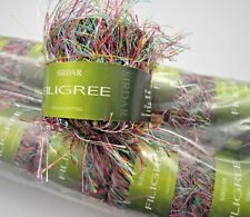 SIRDAR FILIGREE 10 x 25g BALLS. HARLEQUIN 174. KNITTING / CROCHET YARN