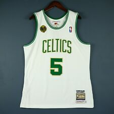 100% Authentic Kevin Garnett Mitchell & Ness 08 09 Celtics Jersey Size L 44 Mens