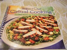 New - The Pampered Chef Casual Cooking - Easy Recipes Indoors & Out