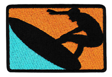 Beautiful Surfing Sunny Surfer Shirt Patch Badge 10cm