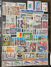Dahomey 1960-70 64 Mnh Stamps In 31 Complete Sets