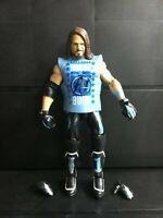 WWE Mattel AJ Styles Elite Series #66 Figure loose