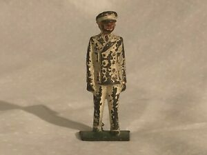 Grey Iron Naval Officer hard to find Cast Iron figure