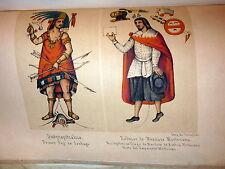 1844 Mexico. Plates.  Conquest. Prescott Mexican Spanish Ed, Cumplido