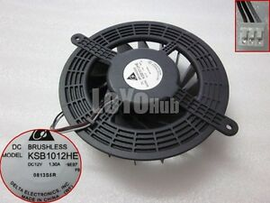 Delta KSB1012HE DC12V 1.3A Original For Apple PS3 Graphics card fan 3Wire 3-Pin
