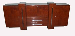 #7066 Art Deco Sideboard ONLY* matching table and 12 chairs not included