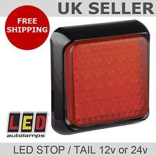 LED Trailer Lights / Stop / Tail Lamps Dual Voltage 12v 24v *5YR Warranty*