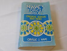 Nave's Topical Bible Original Edition with Index by Orville J. Nave Paperback bo