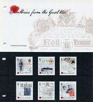 Guernsey 2015 MNH WWI WW1 Stories Great War Pt 2 6v Set Presentation Pack Stamps