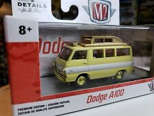 M2 Machines Dodge A 100 Camper CHASE 1/750 MINT walmart model gold accents