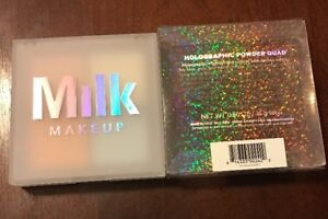 MILK MAKEUP Holographic Powder Quad HIGHLIGHTERS Exclusive New