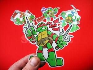 """9/"""" Raphael Vinyl Sticker Teenage Mutant Ninja Turtles TMNT Car Window Decal Raph"""