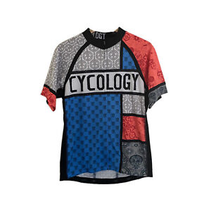 Cycology Men's Short Sleeve Cycling Jersey Club Fit - Size M