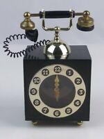 1970's Vintage Telephone/clock Music Box