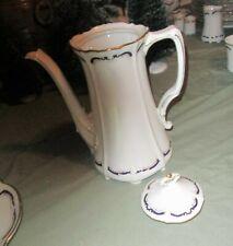 New listing Tirschenreuth Baronesse Gloriette Coffee Pot w/Lid Bavaria Germany Euc