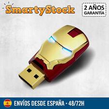Pendrive Iron Man Marvel Vengadores Avengers 16 GB - Memoria USB - Entrega 72h