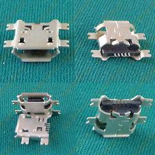 Micro USB Data Type B Female 5Pin Socket 4Legs SMT SMD Cellphone Jack Plug