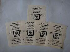 5 Vietnam War VC Propaganda Leaflets Against Any US ARMY Combat Units
