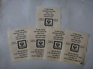 5 Vietnam Guerre Vc Propagande Leaflets Contre Toute Armée Américaine Combat