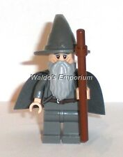 Lego Lord of the Rings Minifigure, GANDALF THE GREY with Staff 9469, 79003  New