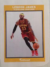 "Lebron James Fathead Ad Panel 6""x4"" Cavaliers 2015 Nba Vinyl Wall Graphics Sign"