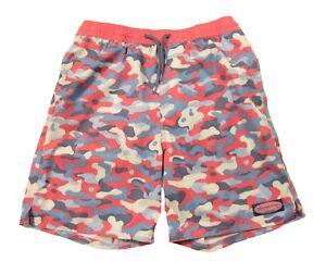 NWOT Vineyard Vines Boys Jetty Camo Print Swim Shorts