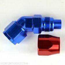 An10 45 Grados Manguera Accesorio Red & Blue Forjado Para Enfriador de aceite y la manguera de combustible Syste