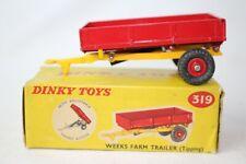 Dinky Toys #319, Weeks Farm Trailer with Original Box #3