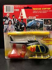 The A-Team Rescue Copter Vehicle Vintage Action Figure Fleetwood