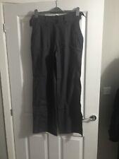 Bnwt Funmum Maternity Grey Linen Trousers Size Xs Uk 8