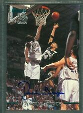 Donnie Boyce Basketball Auto 1995-96 Classic '95 Signature Autograph Signed Card