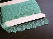 """Closeout Bolt Beading Lace 1 1/2""""  (38mm) Jade SOFT 25 Yards"""