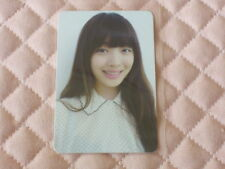 (ver. Sulli) Fx f(x) 2nd Mini Album Electric Shock SM Photocard KPOP